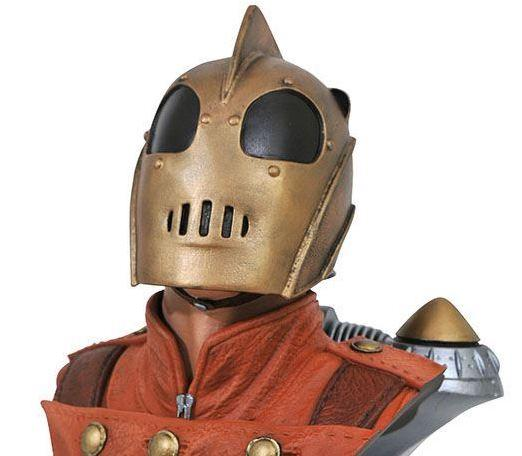 The Rocketeer 1/2 Scale Bust (Photo: Diamond Select Toys)