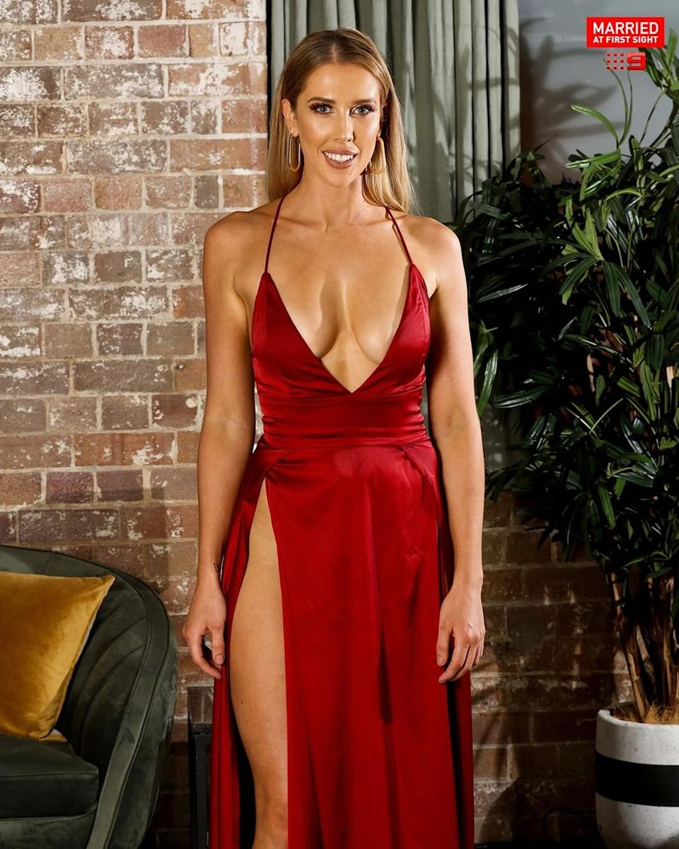 Married At First Sight's Beck Zemek has gone into hiding after the explosive season finale aired last night revealing she'd cheated on Jake Edwards. Photo: Nine
