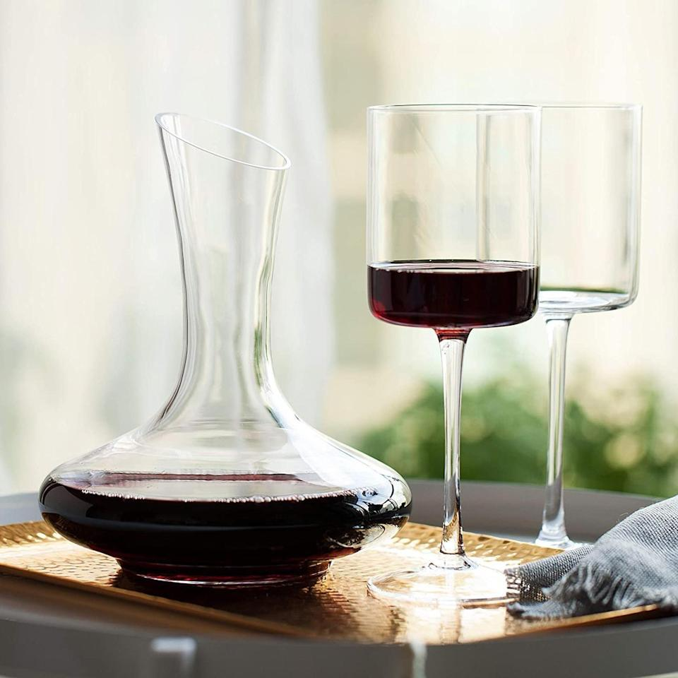 <p>This <span>Wine Decanter</span> ($43, originally $53) is minimal and modern.</p>