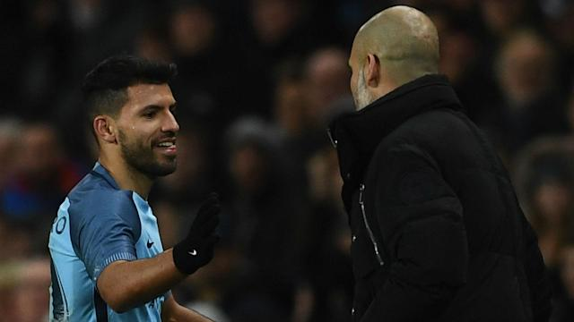 Sergio Aguero struggled upon the arrival of Gabriel Jesus, but he is in fine form and impressing Manchester City boss Pep Guardiola again.