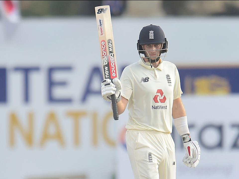 Joe Root was England's star batsmanECB