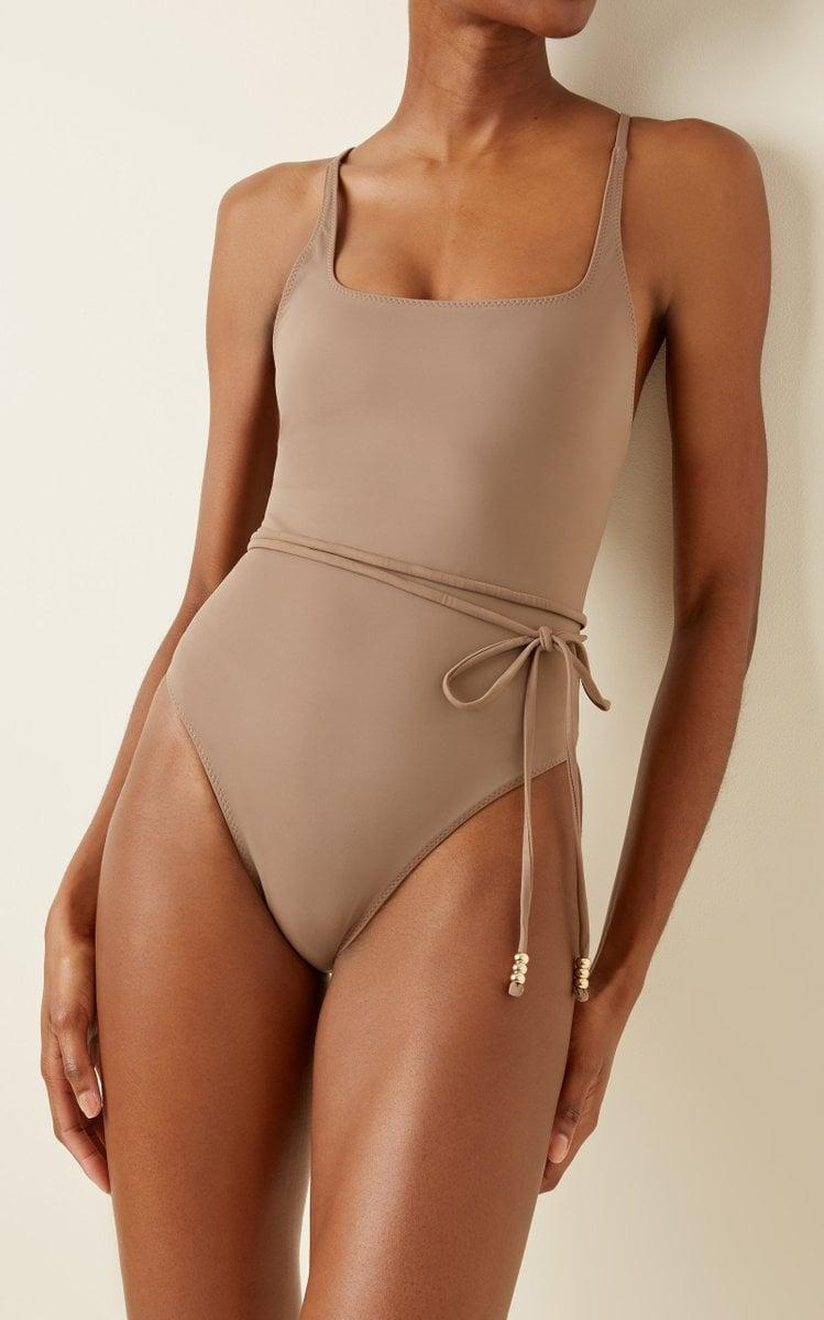 <p><span>Palm Giselle Belted One-Piece Swimsuit</span> ($174, originally $290)</p>