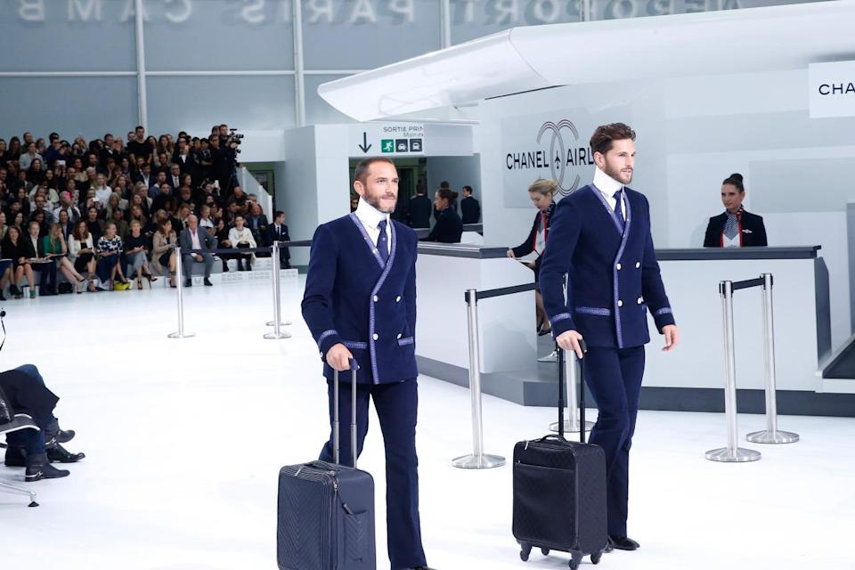 <p>What? Your flight attendants don't look like that? Time to rethink your airline of choice. <i>(Photo: Getty Images)</i></p>