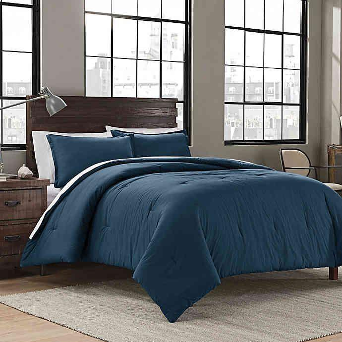 """<h3><a href=""""https://www.bedbathandbeyond.com/store/product/garment-washed-comforter-collection/239193"""" rel=""""nofollow noopener"""" target=""""_blank"""" data-ylk=""""slk:Bed Bath & Beyond Garment Washed Comforter Collection"""" class=""""link rapid-noclick-resp"""">Bed Bath & Beyond Garment Washed Comforter Collection</a> ( <strong>Back-To-School Bestseller)</strong></h3><p>Although truly great bedding has no age limit, one particularly glowing college reviewer said of this 100%-cotton set: """"Me and my roommate both bought these for our first year at college. Super great comforter, loved the look of both the sea glass and blush. The comforter is fluffy and comfortable to sleep with but it also isn't too hot which is really nice. I'll be buying another one for this next year since I'll have a larger bed.""""</p><br><br><strong>Bed Bath & Beyond</strong> Garment Washed Comforter Collection, $59.99, available at <a href=""""https://www.bedbathandbeyond.com/store/product/garment-washed-comforter-collection/239193"""" rel=""""nofollow noopener"""" target=""""_blank"""" data-ylk=""""slk:Bed Bath & Beyond"""" class=""""link rapid-noclick-resp"""">Bed Bath & Beyond</a>"""