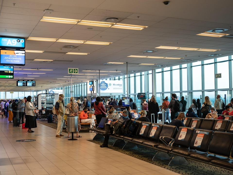 Cape town, South Africa airport