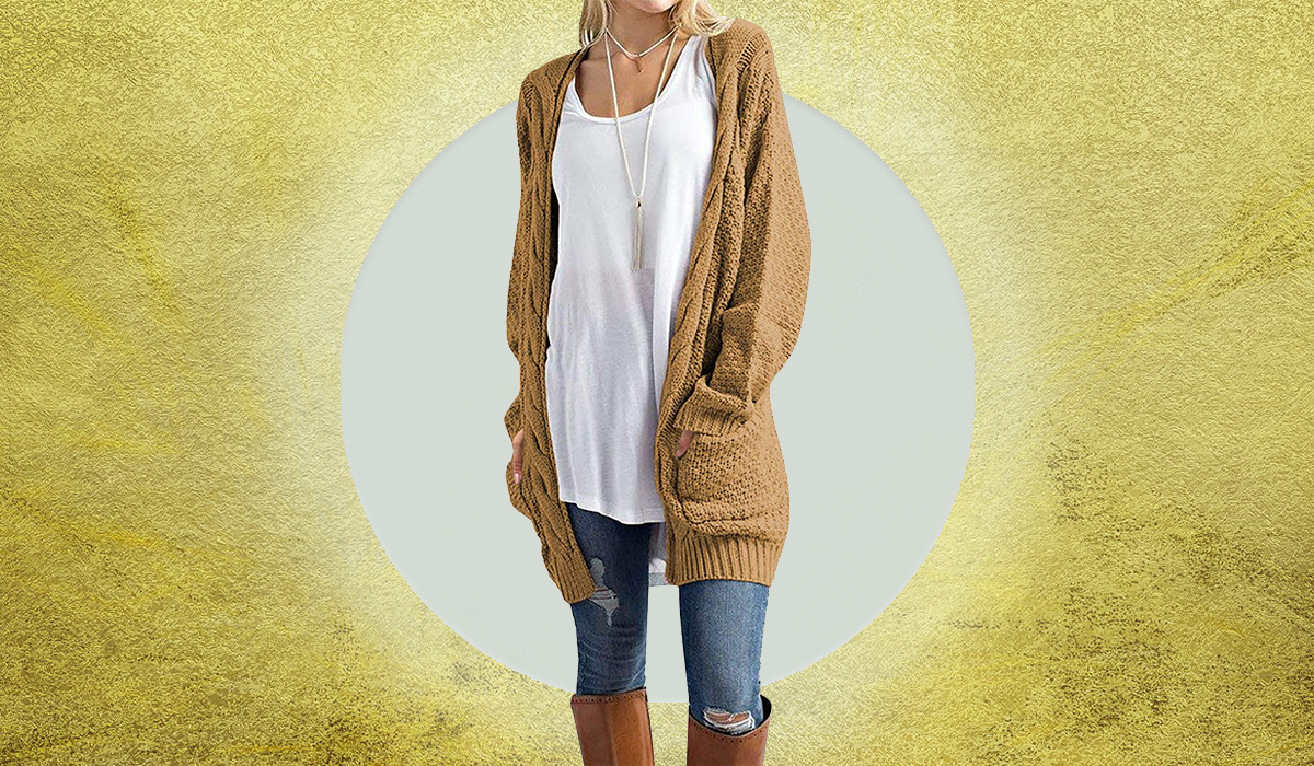 You'll live in this luxe cardigan! (Photo: Amazon)