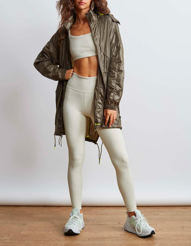 "Whether you're going for a run or dragging yourself to the grocery store, this versatile windbreaker is the ideal layering piece for unpredictable fall weather—and it'll look prime paired with <a href=""https://www.glamour.com/gallery/best-running-shoes-for-women?mbid=synd_yahoo_rss"" rel=""nofollow noopener"" target=""_blank"" data-ylk=""slk:running shoes"" class=""link rapid-noclick-resp"">running shoes</a>. $188, Bandier. <a href=""https://www.bandier.com/collections/light-jackets/products/radio-windbreaker-green"" rel=""nofollow noopener"" target=""_blank"" data-ylk=""slk:Get it now!"" class=""link rapid-noclick-resp"">Get it now!</a>"
