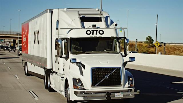 Otto is an Uber-owned self-driving truck company.