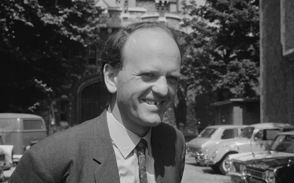British Labour Party politician Frank Judd, Baron Judd, outside Holloway prison, London, UK, 23rd July 1969. - Norman Potter/Daily Express/Hulton Archive/Getty