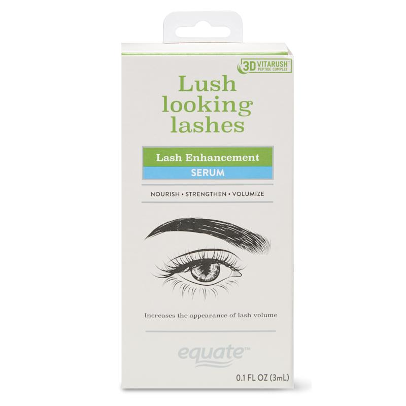 57ba5ab4818 Equate Lash Enhancement Serum with 3D VitaRush Peptide Complex. (Photo:  Walmart)