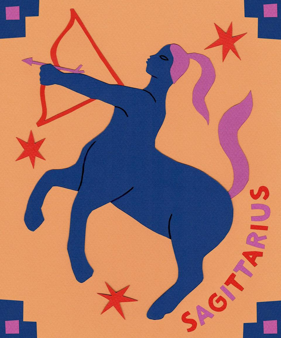"<strong>Sagittarius</strong> <br><strong>22nd November to 21st December</strong><br><br>Need a pick-me-up, Sagittarius? You're about to get a boost of energy starting August 4, <br>as love and career-ruling Mercury makes his way into <a href=""https://www.refinery29.com/en-us/2019/07/238361/leo-sex-traits"" rel=""nofollow noopener"" target=""_blank"" data-ylk=""slk:the generous sign of Leo"" class=""link rapid-noclick-resp"">the generous sign of Leo</a>. This transit will help you to share your passions with the world and woo your special someone. You could get creative with your schedule beginning August 7, as routine-ruling Venus enters imaginative Cancer. Tap into your domestic side and enjoy getting comfy in your space while Venus hangs out in this sensitive sign. Get ready to take in some new attention starting August 22, when the Sun lights up your 10th house of career, structure, and public image. Prepare to make a good impression by cleaning up your online presence before this transit begins. Keep an eye on your inbox for attractive new opportunities.<br><br><br><br>"