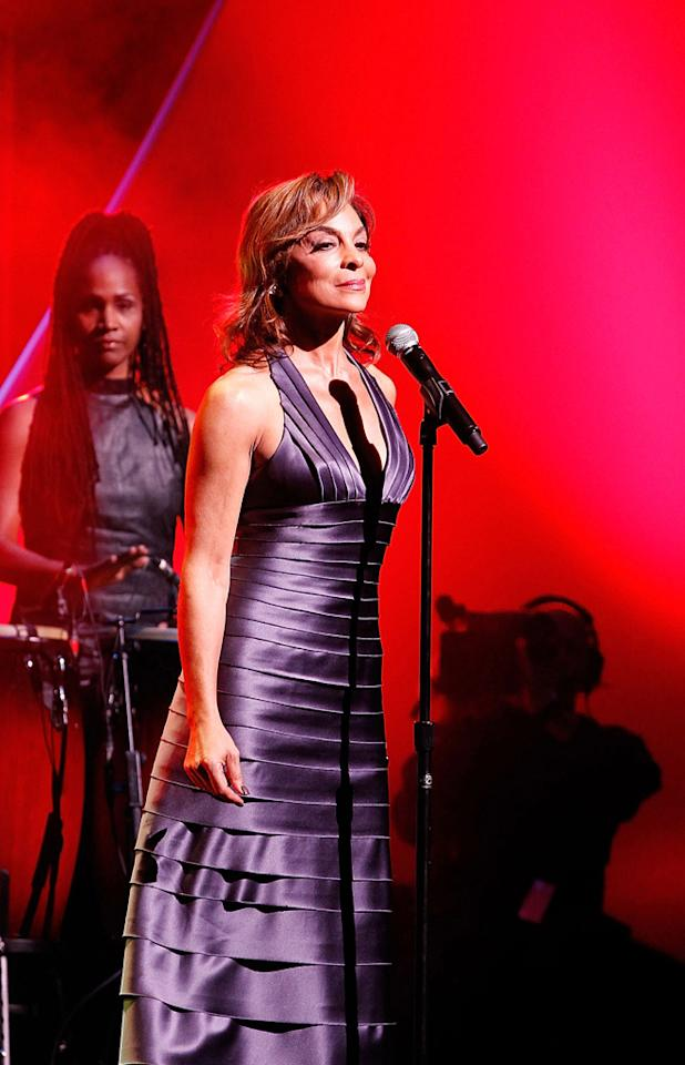 """If you did a double take of this shot, it's because you probably remember Jasmine Guy as the snooty Whitley from the '80s """"Cosby Show"""" spinoff """"A Different World."""" These days the former actress is an R&B singer. She performed in honor of inductee Kenny Leon. Ben Rose/<a href=""""http://www.wireimage.com"""" target=""""new"""">WireImage.com</a> - September 17, 2011"""