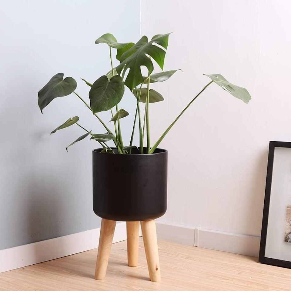 <p>This <span>Sinolodo Mid-Century Metal Planter</span> ($39) will be sure to get you a lot of compliments.</p>