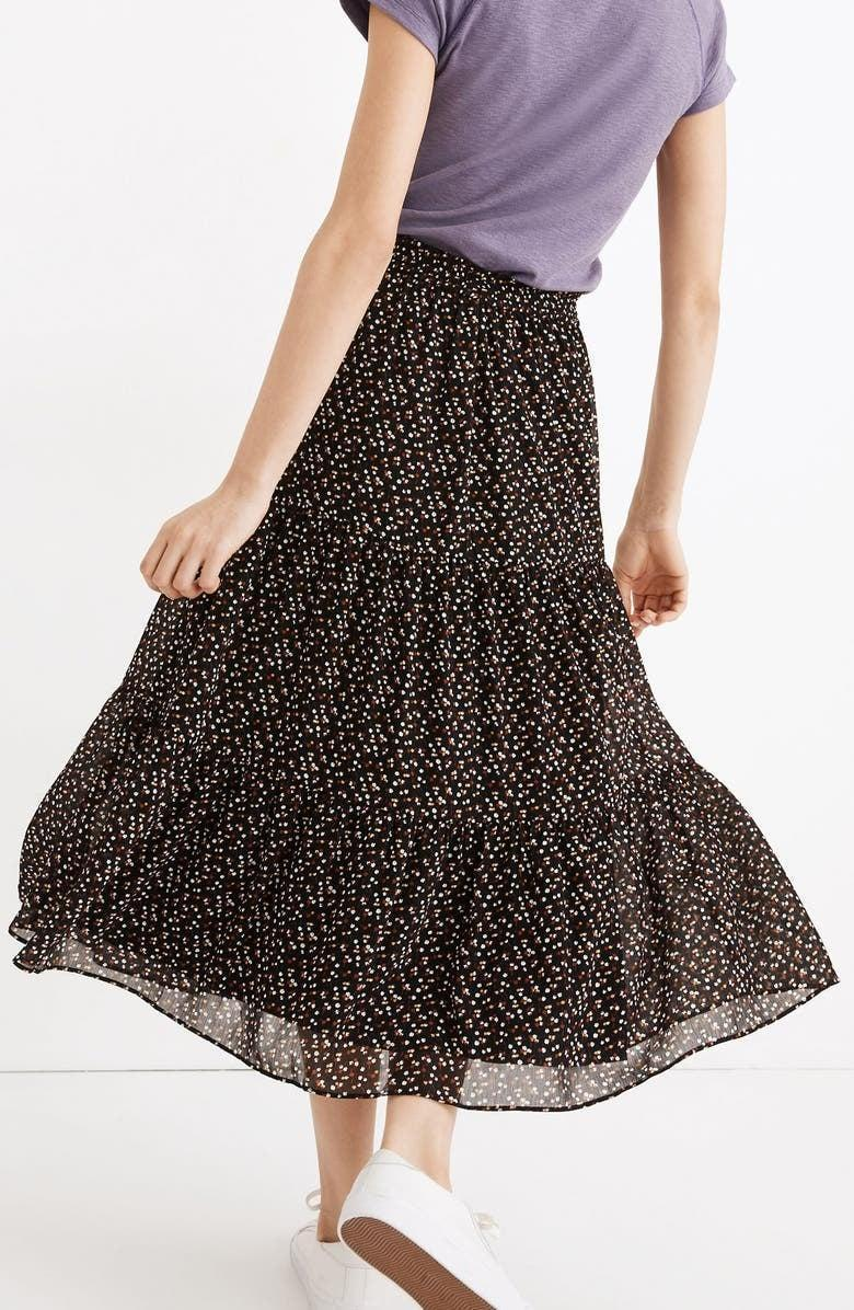<p>The <span>Madewell Tiered Ruffle Maxi Skirt</span> ($98) is lightweight and perfect for hot days.</p>