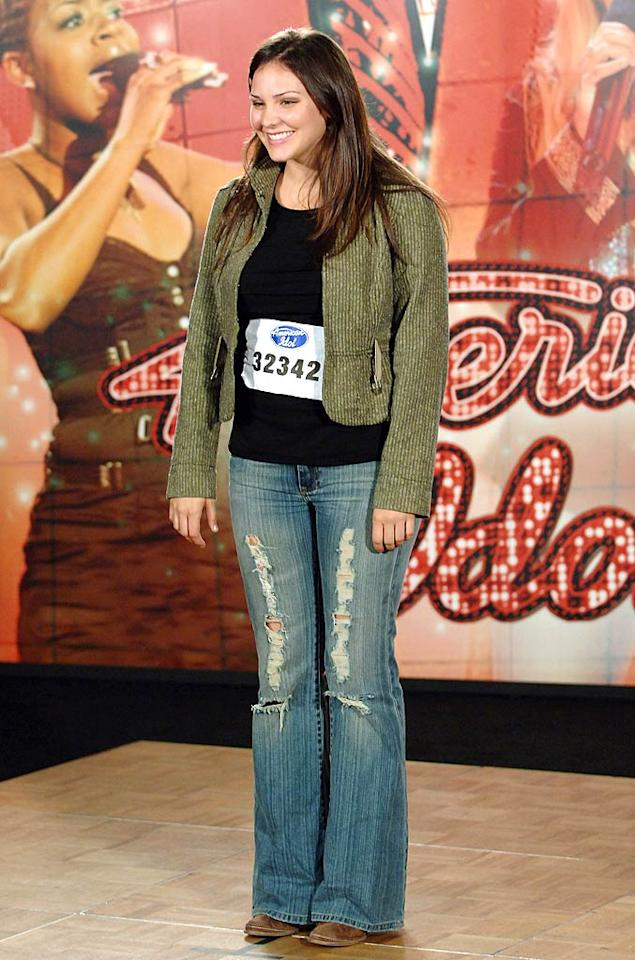 "Season five runner-up Katharine McPhee has enjoyed many successes since her stint on ""Idol,"" including gains in the fashion arena. Ray Mickshaw/<a href=""http://www.wireimage.com"" target=""new"">WireImage.com</a> - November 1, 2005"