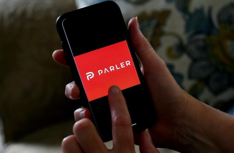 Social media startup Parler, which touts itself as free from fact-checking and censorship, has gained a number of prominent conservative politicians (AFP Photo/Olivier DOULIERY)
