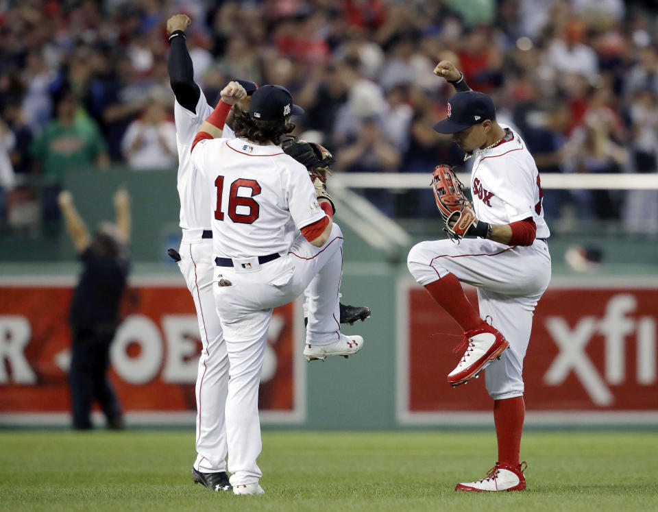 What happened to the dancing in Boston? (AP)