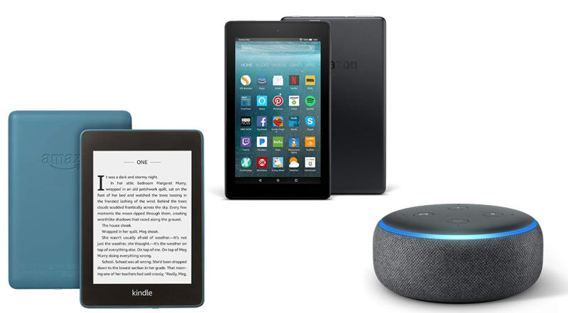 Prime Day Previous generation Amazon Kindle, Fire tablets, and Echo Dot