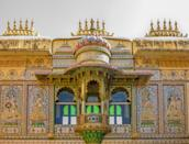 Sheess Mahal or Palace of Mirrors and glasses was built in 1716 by Maharana Pratap for his wife Maharani Ajabde.