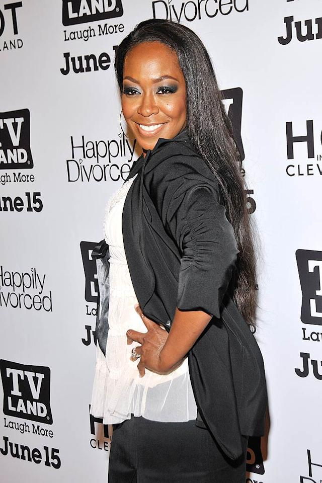 """Actress Tichina Arnold turns 40. Ben Gabbe/<a href=""""http://www.gettyimages.com/"""" target=""""new"""">GettyImages.com</a> - June 13, 2011"""