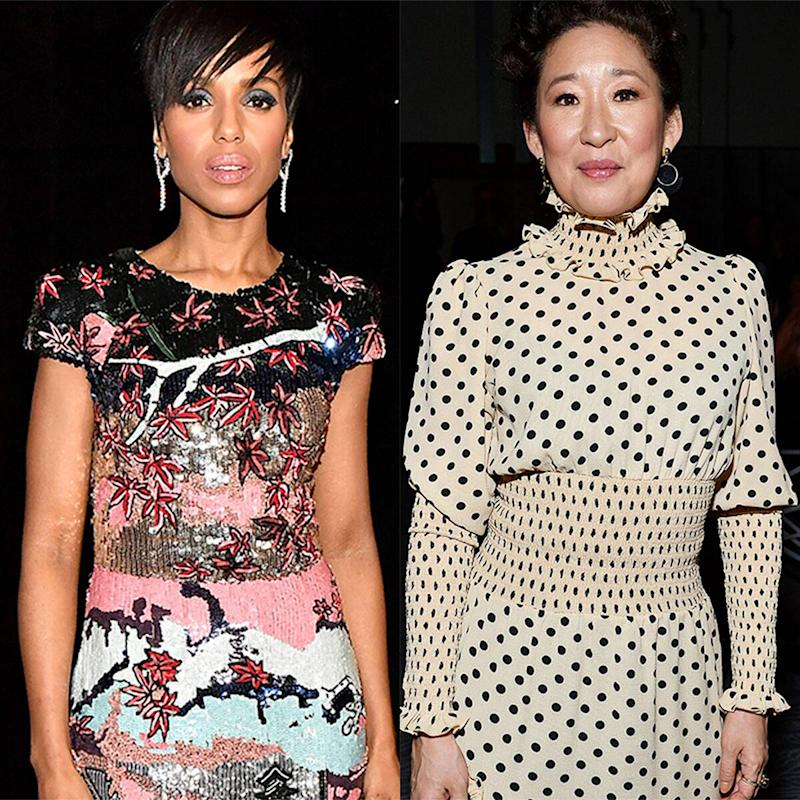 Sandra Oh Tells Kerry Washington She Really Wanted to Play Scandal 's Olivia Pope