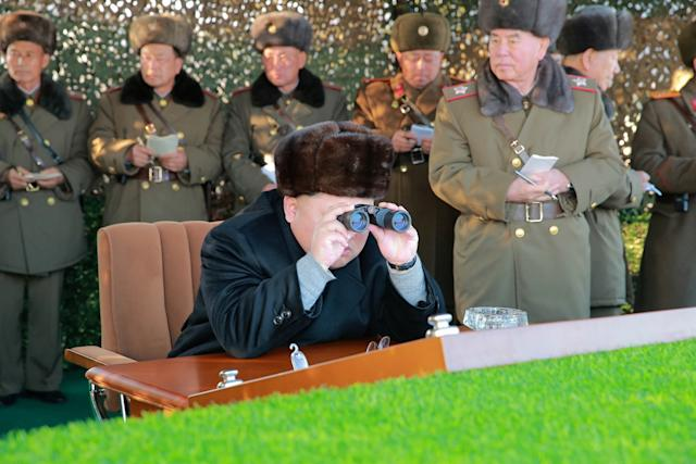 North Korea live-fire drill and Kim Jong-un