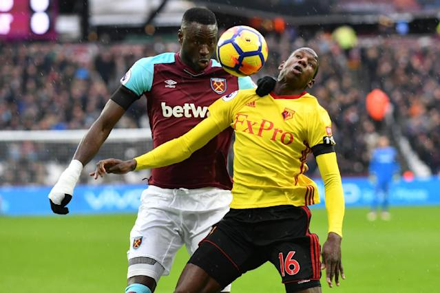 West Ham vs Watford LIVE latest score: Premier League 2017-18 goal updates, TV, how to follow online, team news, line-ups London Stadium
