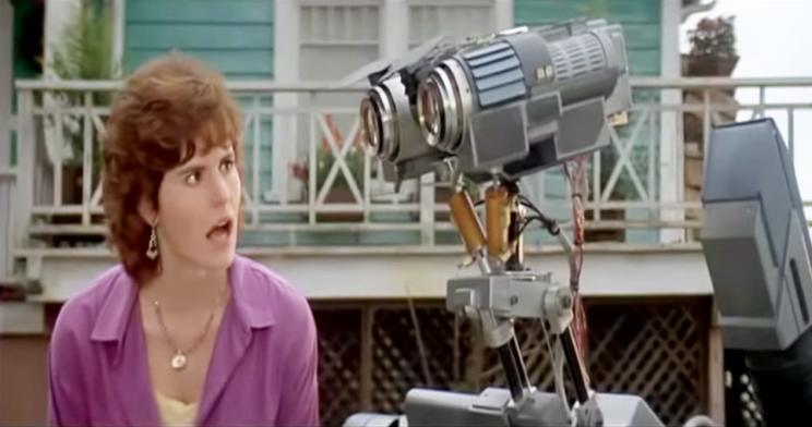 A scene from Short Circuit (1986)