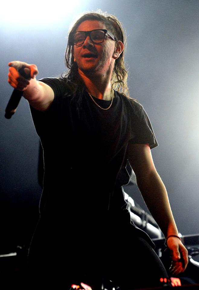 "<p>The American producer and DJ teamed with Diplo in Jack Ü. The project's ""<a href=""https://www.youtube.com/watch?v=nntGTK2Fhb0"">Where Are Ü Now</a>"" (featuring Justin Bieber) hit #8 in 2015. Skrillex has won six Grammys, including back-to-back awards for Best Dance Recording for ""<a href=""https://www.youtube.com/watch?v=WSeNSzJ2-Jw"">Scary Monsters and Nice Sprites</a>"" and ""<a href=""https://www.youtube.com/watch?v=YJVmu6yttiw"">Bangarang</a>"" (featuring Sirah). ""Scary Monsters…"" is Skrillex's highest-charting Hot 100 hit under his own name. (It peaked at #69.) Skrillex, 27, was born in Highland Park, Calif., near Los Angeles. </p>"