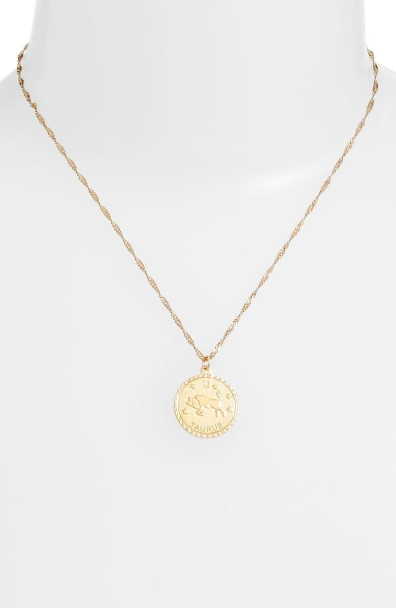 """<p>They'll want to wear this <a href=""""https://www.popsugar.com/buy/Cam-Jewelry-Ascending-Zodiac-Medallion-Necklace-494334?p_name=Cam%20Jewelry%20Ascending%20Zodiac%20Medallion%20Necklace&retailer=shop.nordstrom.com&pid=494334&price=55&evar1=fab%3Aus&evar9=44353153&evar98=https%3A%2F%2Fwww.popsugar.com%2Ffashion%2Fphoto-gallery%2F44353153%2Fimage%2F47015408%2FCam-Jewelry-Ascending-Zodiac-Medallion-Necklace&list1=shopping%2Cnordstrom%2Choliday%2Cgift%20guide%2Clast-minute%20gifts%2Cfashion%20gifts%2Cgifts%20for%20women&prop13=api&pdata=1"""" rel=""""nofollow noopener"""" class=""""link rapid-noclick-resp"""" target=""""_blank"""" data-ylk=""""slk:Cam Jewelry Ascending Zodiac Medallion Necklace"""">Cam Jewelry Ascending Zodiac Medallion Necklace</a> ($55) every single day.</p>"""