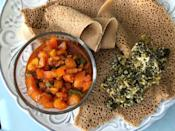 """<p><strong><a href=""""https://abugidaethiopiancafe.weebly.com/"""" rel=""""nofollow noopener"""" target=""""_blank"""" data-ylk=""""slk:Abugida Ethiopian Cafe and Restaurant"""" class=""""link rapid-noclick-resp"""">Abugida Ethiopian Cafe and Restaurant</a>, Charlotte</strong></p><p>Abugida calls themselves """"the best Ethiopian food in Charlotte,"""" and it's something fans agree with. They sell authentic and reasonably priced Ethiopian cuisine in a comforting setting. </p>"""