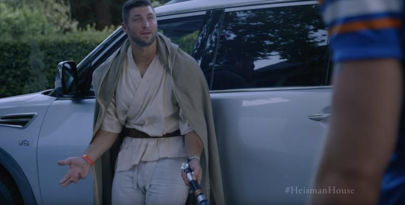 Tim Tebow Nissan commercial