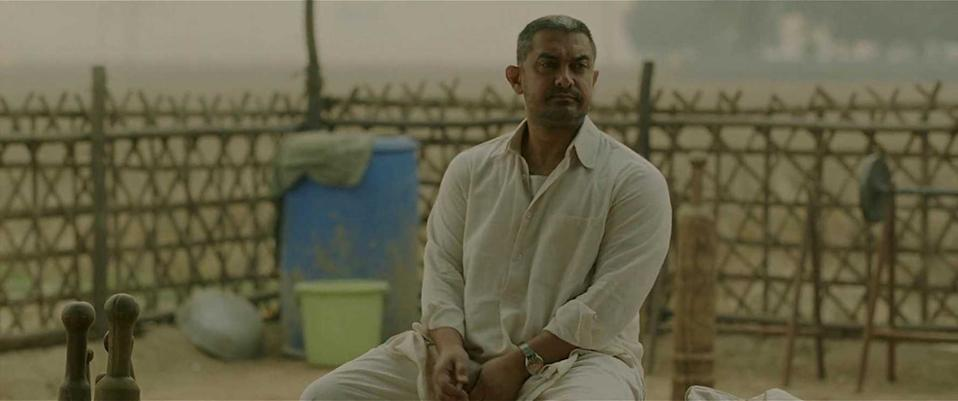 Dangal is yet another feather in Mr Perfectionist's hat. Aamir undergoes body transformation twice, first to strengthen his body to play a young wrestler, and then gain weight to look like a middle-aged father cum coach to his daughters. The actor plays the part of a determined dad out to train his daughters for excellence with utmost conviction. His dignified portrayal is the perfect foil for the film's spirited young performers -- Zaira Wasim and Fatima Shaikh.