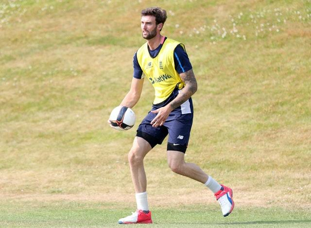 Reece Topley has taken to studying during cricket's lockdown.