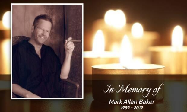 Mark Baker's obituary described him as a man with a true sense of adventure who loved travelling and mountain biking.