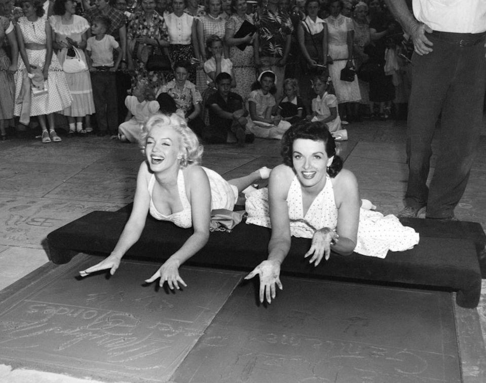"""<p>""""When I was older, I used to go to Grauman's Chinese Theatre and try to fit my foot in the prints in the cement there. And I'd say, """"Oh, oh, my foot's too big! I guess that's out."""" I did have a funny feeling later when I finally put my foot down into that wet cement. I sure knew what it really meant to me. Anything's possible, almost.""""</p>"""