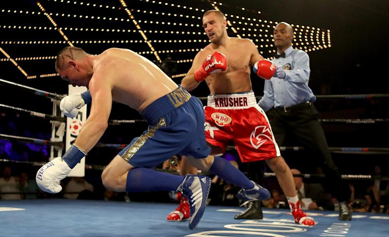 Kovalev returns home to fight in Russia for the first time since 2016. (Getty Images)