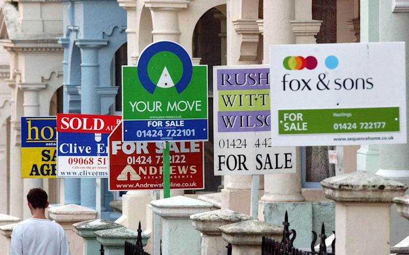 Rics said that buyer inquiries, agreed sales and the number of properties on the market continue to fall - PA