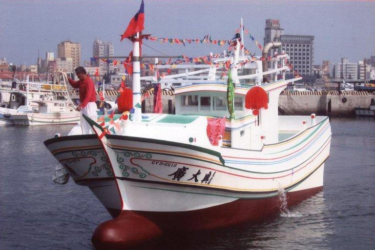 Undated image released by Taiwan's Liuqiu fishing committee on May 10, 2013 shows the Guang Ta Hsin 28 fishing vessel