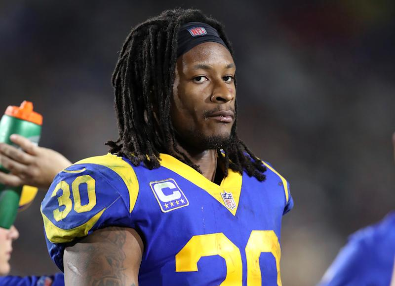 Todd Gurley was a full participant at practice Thursday setting up an elite matchup of strengths on Saturday. More