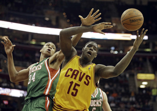 Things didn't go well for Anthony Bennett in Cleveland. (AP Photo/Mark Duncan)