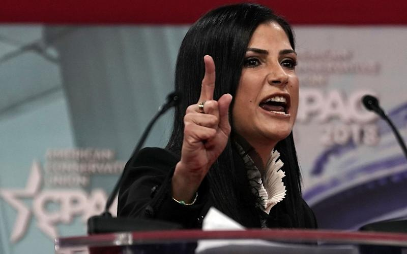National Rifle Association (NRA) spokeswoman Dana Loesch speaks during CPAC 2018 February 22, 2018 - Getty Images North America