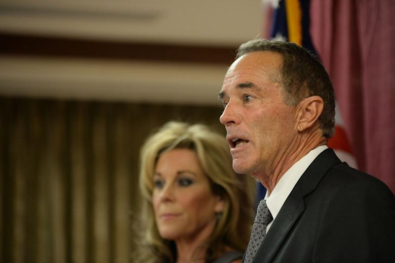 After seeing his political profile soar as an early backer of President Donald Trump,former Rep. Chris Collins (R-N.Y.) is headed to prison. (Photo: John Normile via Getty Images)