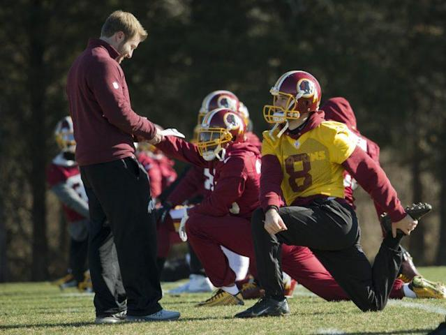 QB Kirk Cousins has taken nicely to Sean McVay's play-calling over the past two seasons. (AP)