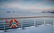 """<p>Seeing the Northern Lights is easy; stay in the Arctic Circle away from light pollution, and wait. That's what the Hurtigruten <a rel=""""nofollow noopener"""" href=""""https://www.norwegiancoastalcruises.com/northern-lights-voyages.htm"""" target=""""_blank"""" data-ylk=""""slk:Northern Lights Astronomy Voyage"""" class=""""link rapid-noclick-resp"""">Northern Lights Astronomy Voyage</a> does for 12 days from January 12, 2018, when it sails from Bergen (60° N) to Kirkenes (69° N) and back, complete with lectures and guided tours of the night sky from the deck of the ship delivered by British astronomer Dr. John Mason, MBE.</p>"""
