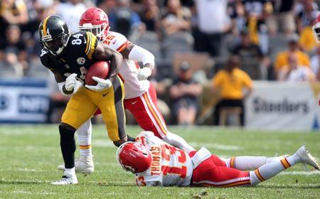 More drama in Pittsburgh - WR Antonio Brown absent from work on Monday
