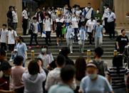 The pressure for both pupils and parents spikes further during 'gaokao', the notorious entrance examination for Chinese universities