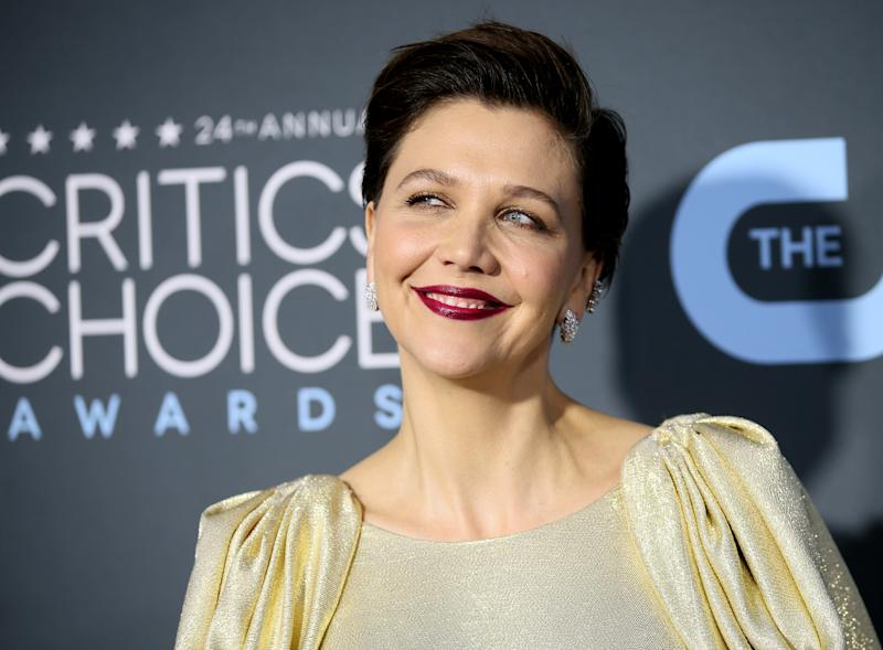 24th Critics Choice Awards - Arrivals - Santa Monica, California, U.S., January 13, 2019 - Maggie Gyllenhaal. REUTERS/Danny Moloshok