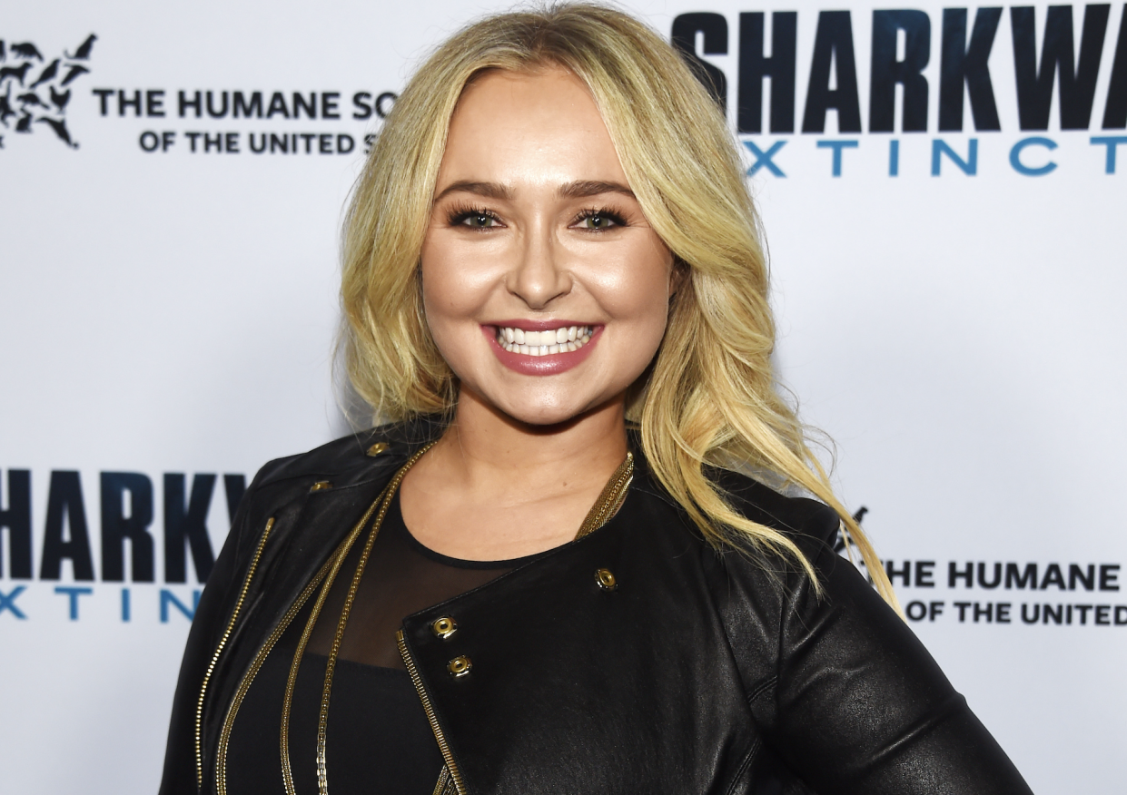 HOLLYWOOD, CALIFORNIA - JANUARY 31: Hayden Panettiere arrives at a screening of Freestyle Releasing's