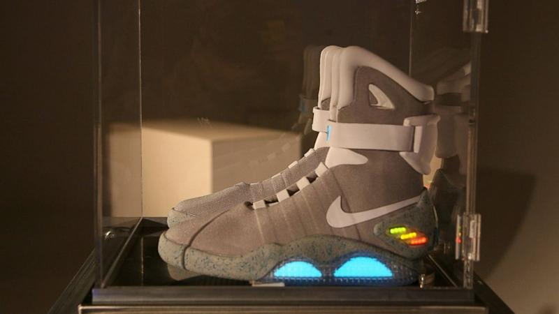 Nike Sending First 'Back to the Future' Self-Tying Shoes to Michael J. Fox (ABC News)